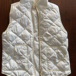 J. Crew women's white vest